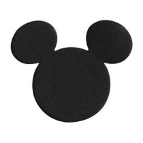 つまりミッキーの形をしたものをミッキーシェイプと呼ぶんですね。よくあるのが丸が三つくっついたもの。ミッキーのシルエットとしてディズニーパークのあちこちで見る